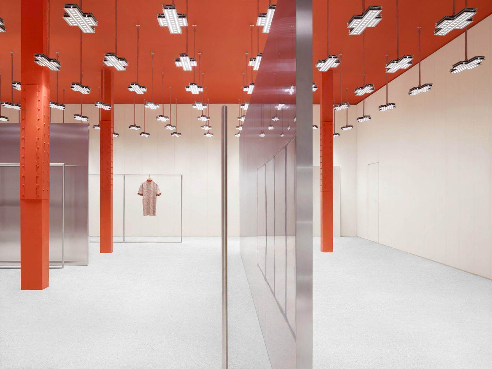 Los interiores de Acne Studios